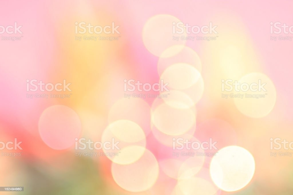 Spring Bokeh royalty-free stock photo