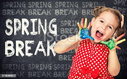 istock Spring break concept 518086622