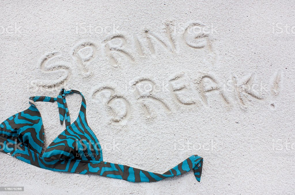 Spring Break royalty-free stock photo