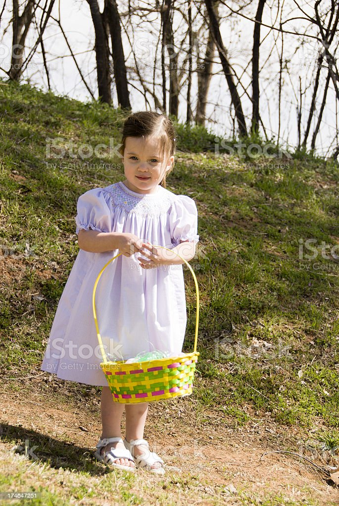Spring Child Outdoor Portrait royalty-free stock photo