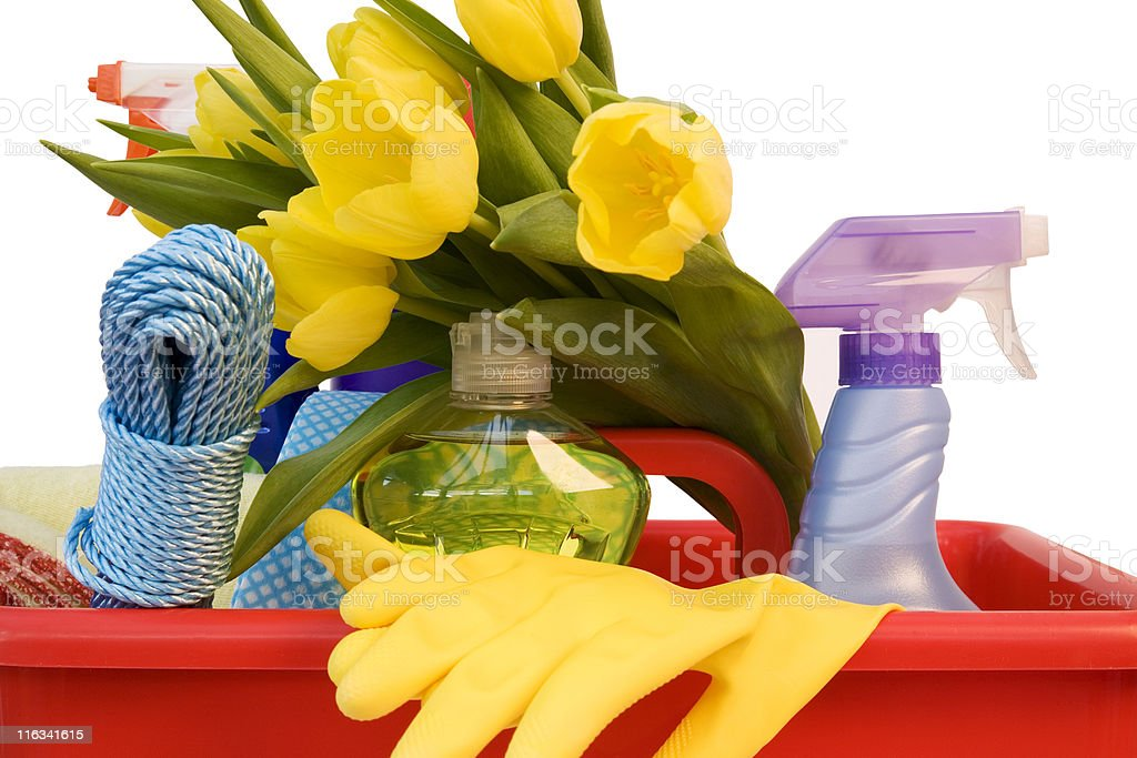 Spring Clean royalty-free stock photo