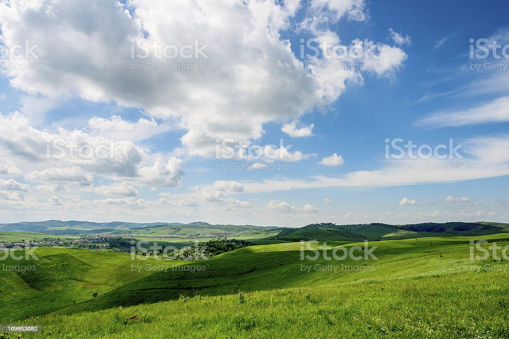 spring cloud royalty-free stock photo