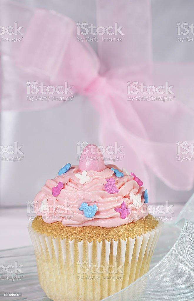 Spring cupcake royalty-free stock photo
