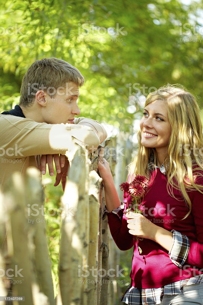 Spring date royalty-free stock photo