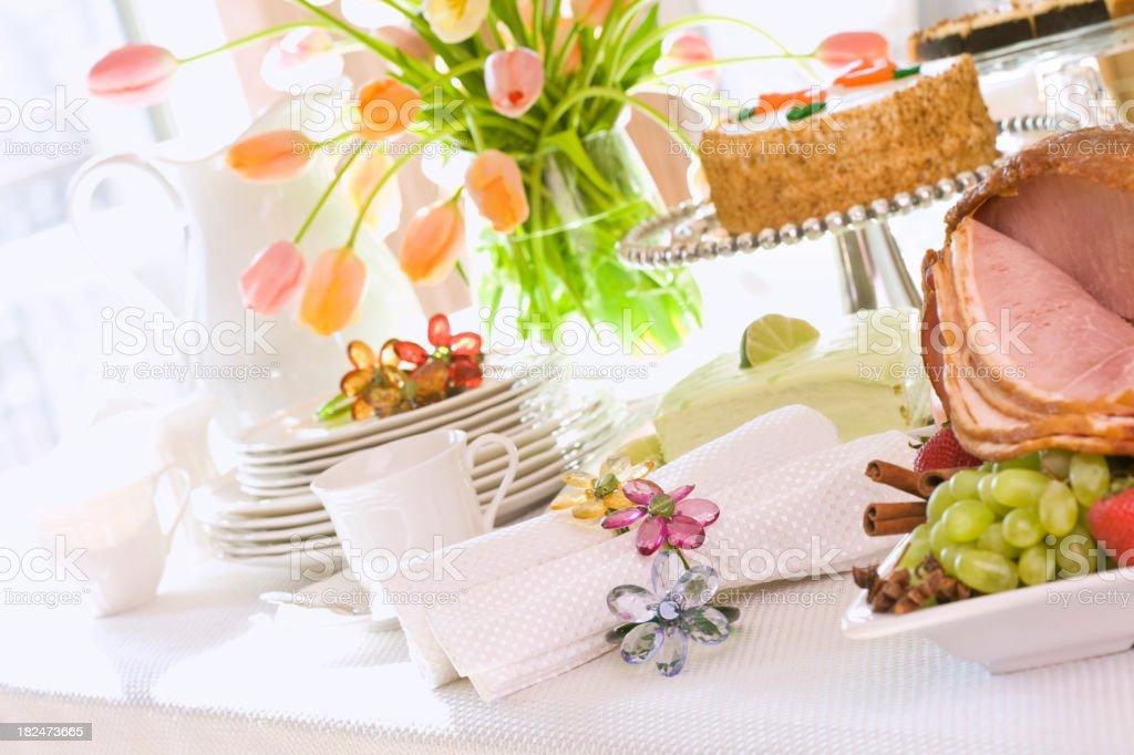 Spring Dining stock photo