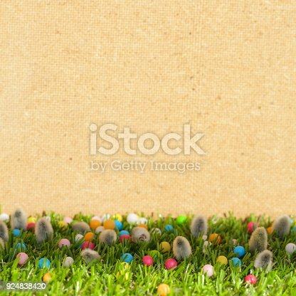 istock Spring Easter Background 924838420