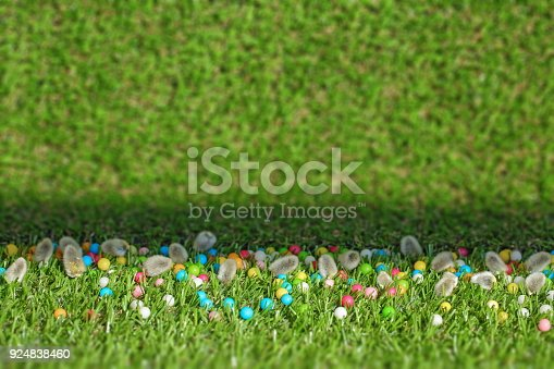 istock Spring Easter Background 924838460