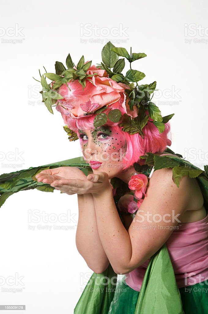 Spring Fairy royalty-free stock photo