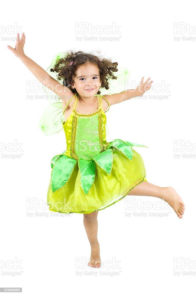 Spring Fairy royalty free stockfoto