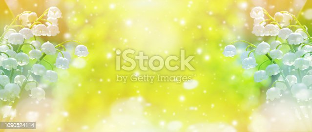 643781968 istock photo Spring floral background 1090524114