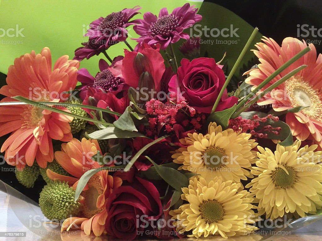 Spring Flower Bouquet royalty-free stock photo