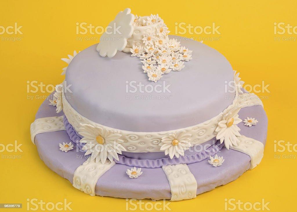 Spring Flower Cake royalty-free stock photo