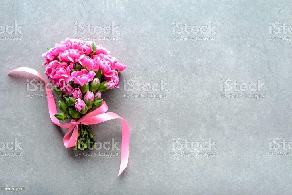 Spring Flowers Bouquet For Wedding Gift Or Mothers Day Card Stock Photo Download Image Now Istock