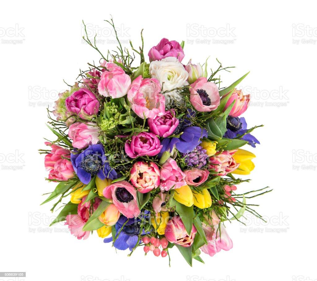 Foto De Buque De Bonitas Flores Tulipa Ranunculo Anemona De Primavera E Mais Fotos De Stock De Alemanha Istock