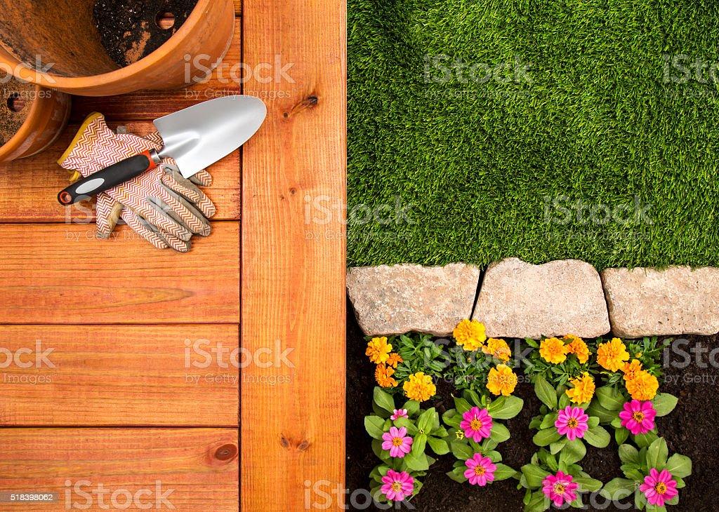 Frühling Garten – Foto