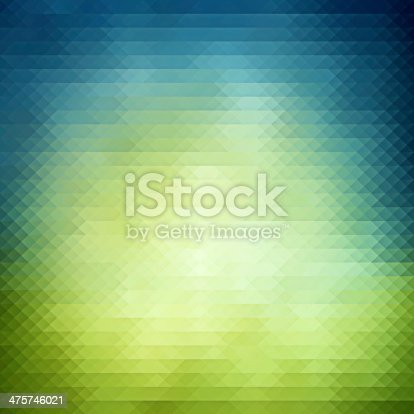 istock Spring geometric background 475746021