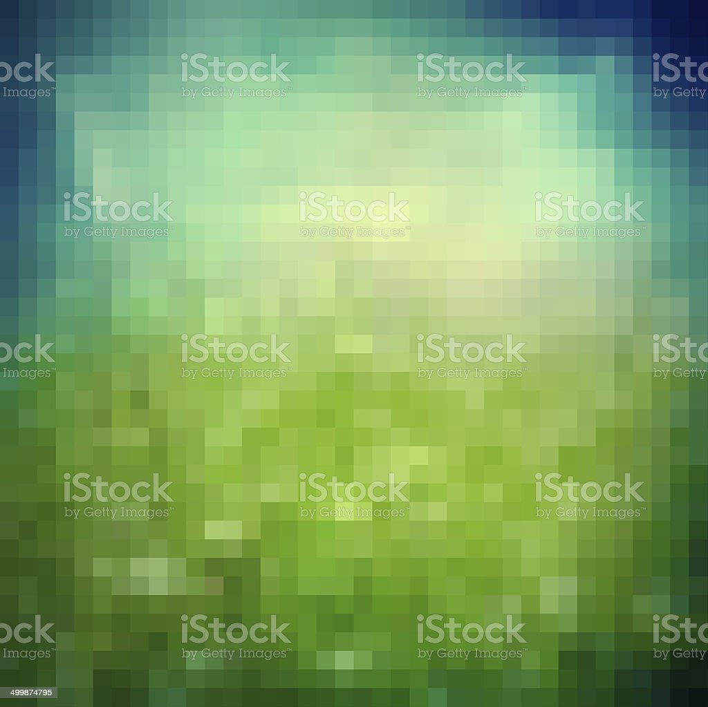 Spring geometric modern background stock photo