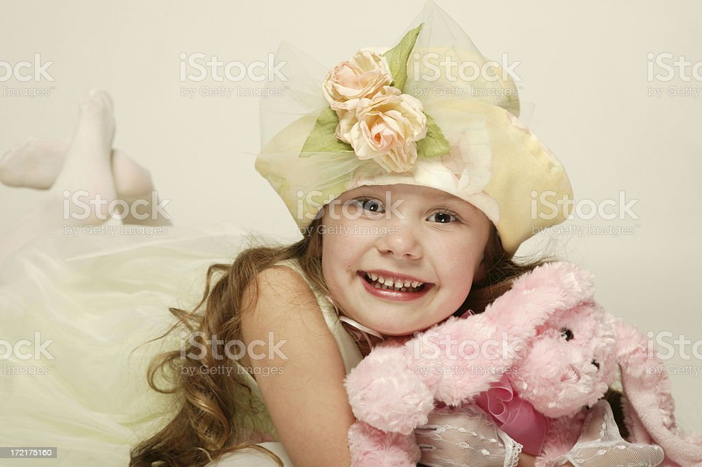 Spring Girl 0128 royalty-free stock photo