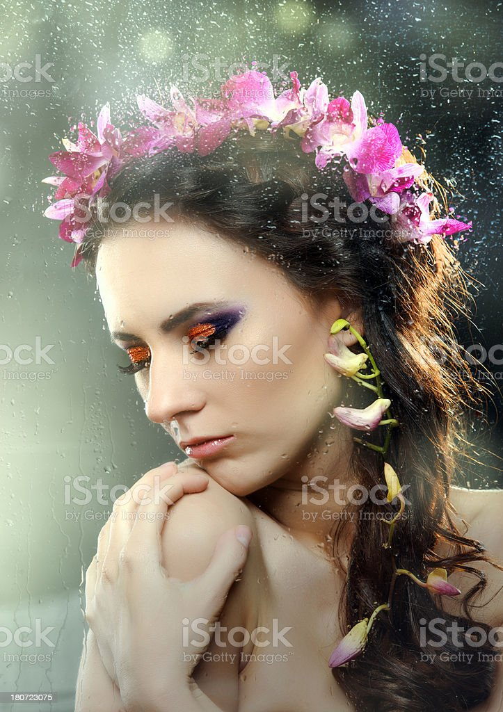 spring girl royalty-free stock photo