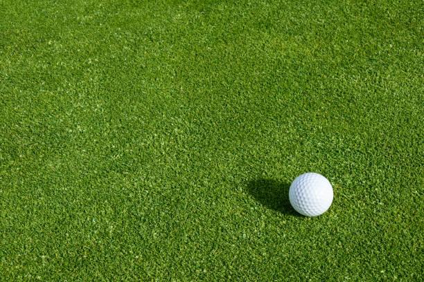 Spring Golf Stock Photo