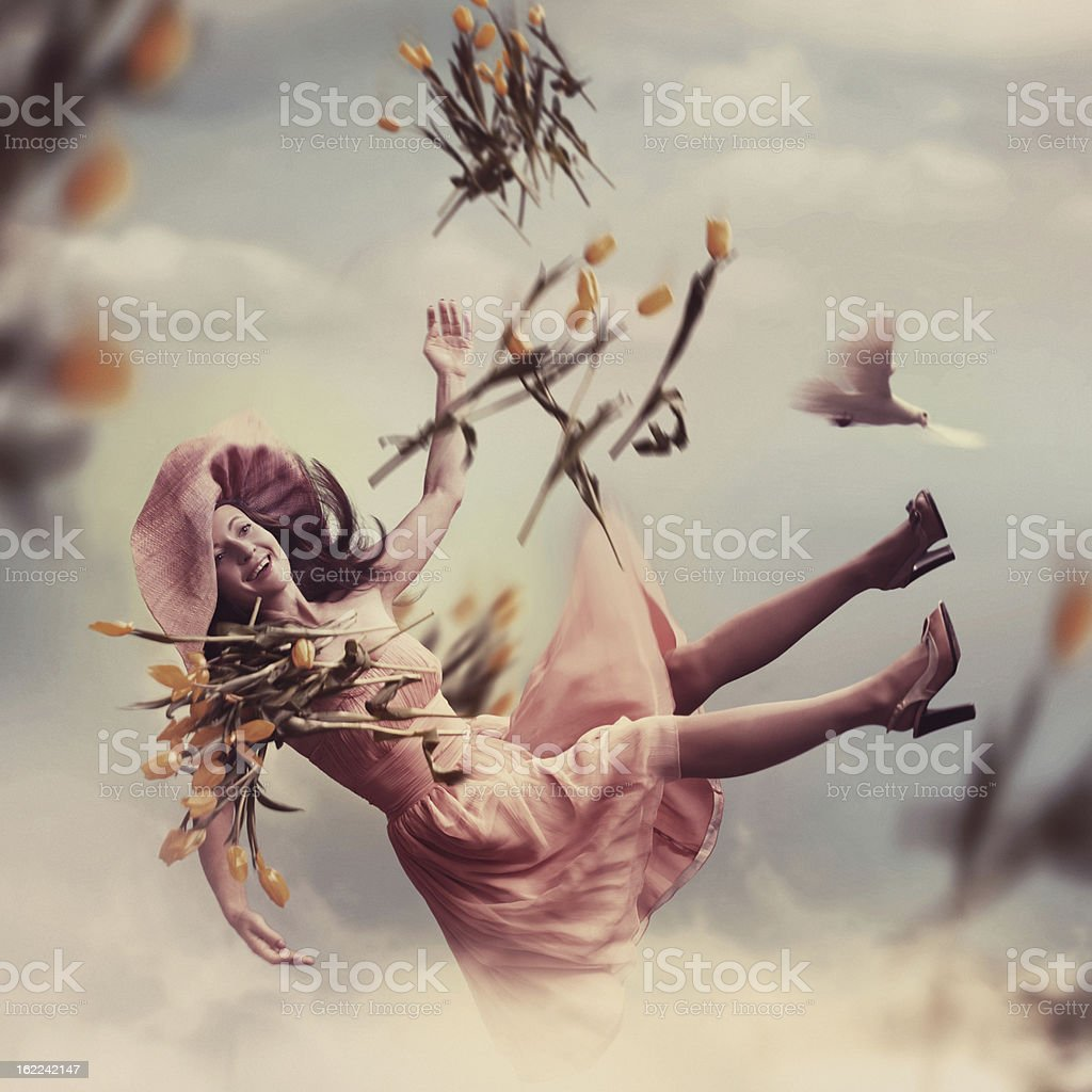 Spring Happiness royalty-free stock photo