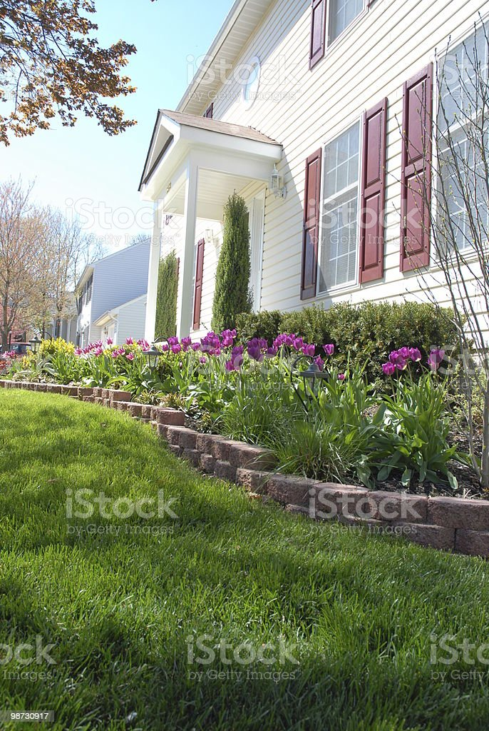 Spring home royalty-free stock photo