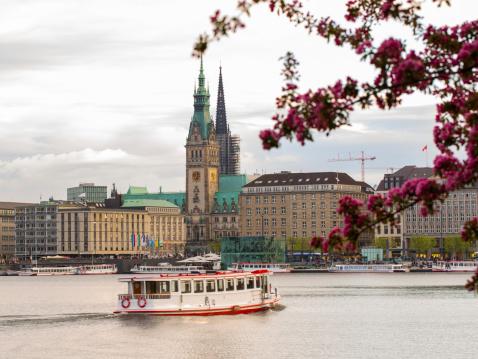 Spring in Hamburg