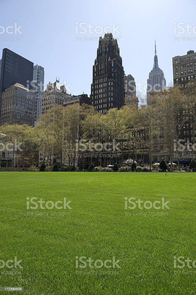 Spring In New York stock photo