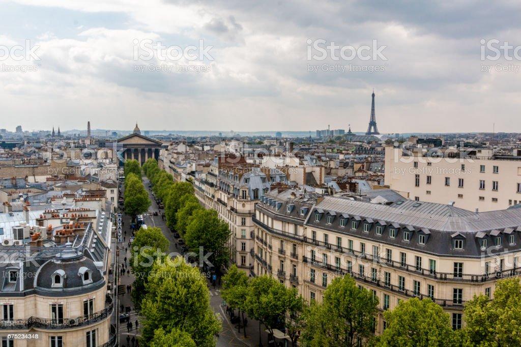 Spring in Paris royalty-free stock photo