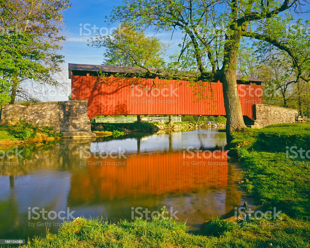 Spring in Pennsylvania stock photo