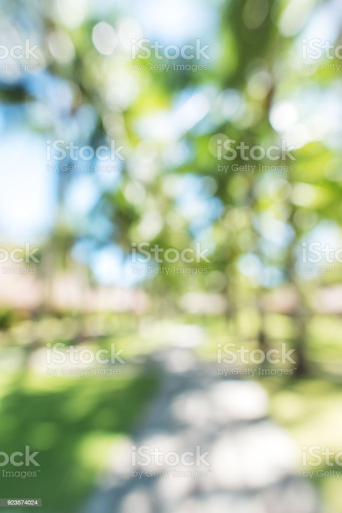 Spring nature blurred abstract background stock photo