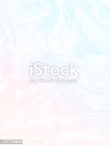 Spring Pastel Rainbow Clouds Abstract Background Light Colorful Wave Pattern Ethereal Texture