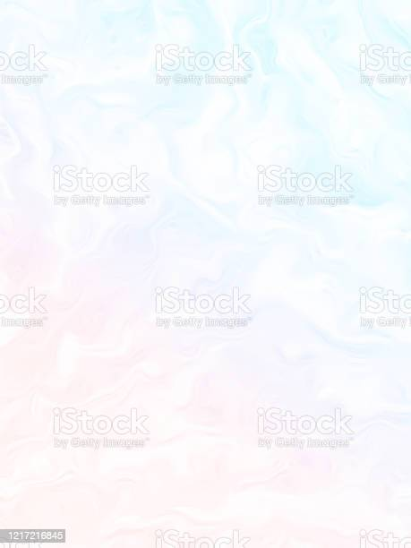 Photo of Spring Pastel Rainbow Clouds Abstract Background Light Colorful Wave Pattern Ethereal Texture