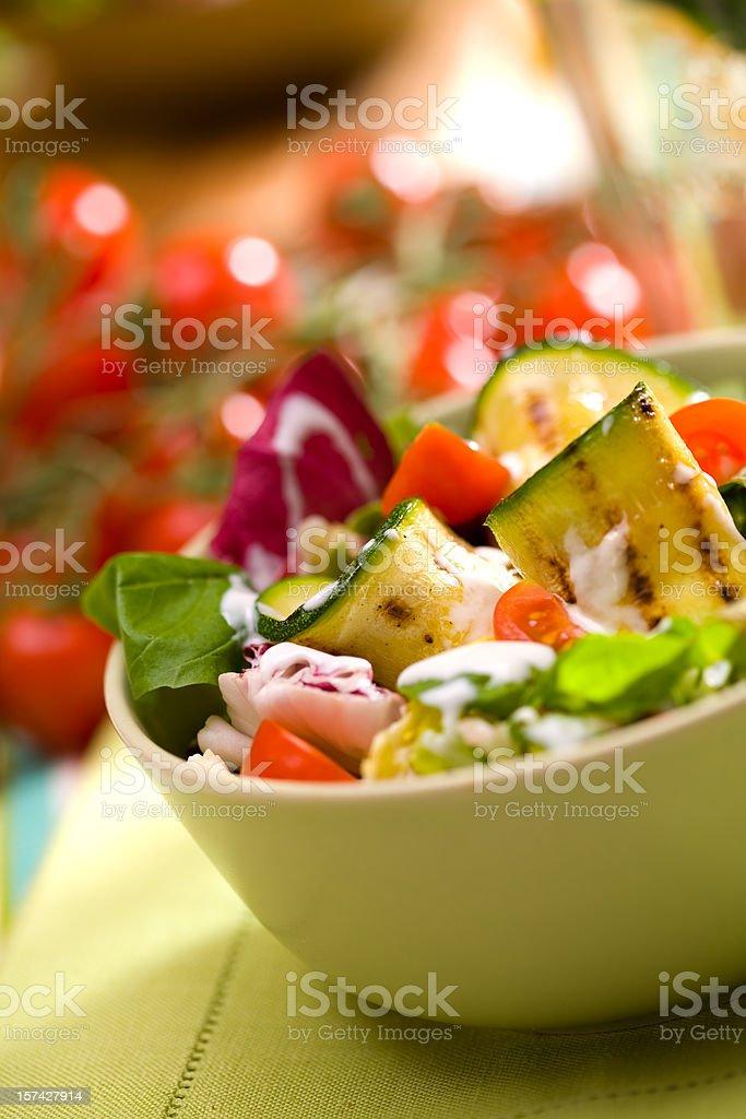 Spring salad royalty-free stock photo
