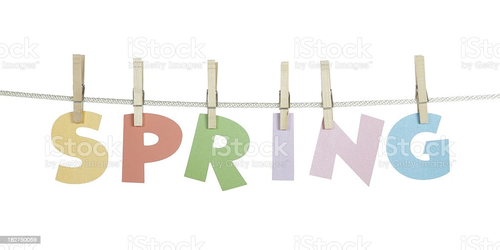 Spring Sale Concept royalty-free stock photo
