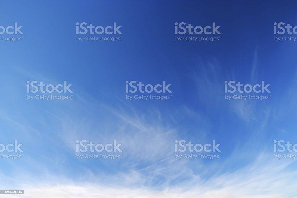 Spring sky. royalty-free stock photo