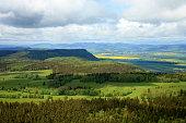 istock Spring Stolowe Mountain range- landscape near small, picturesque Pasterka village in Poland. 1227082051