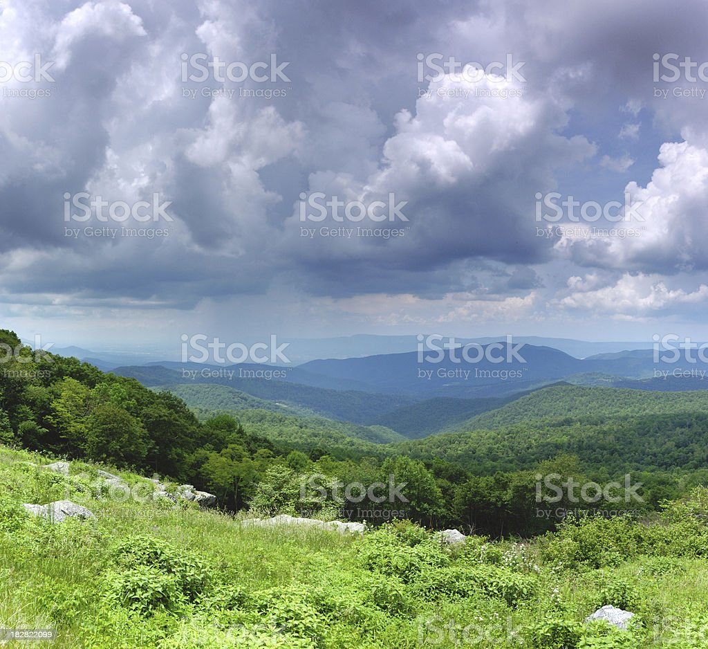 Spring Storm royalty-free stock photo