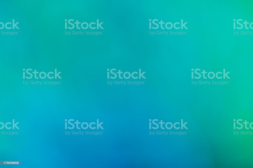Spring summer nature background - beautiful green & blue bokeh stock photo