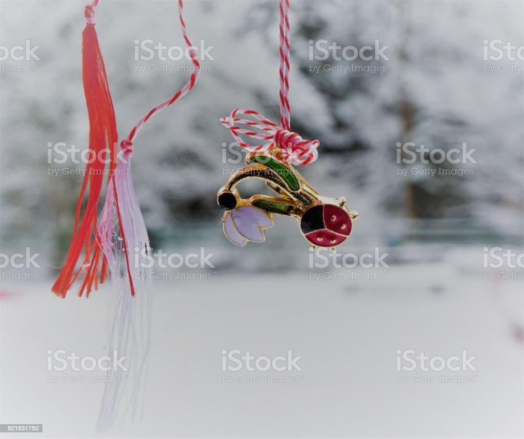 Spring Symbol for Love stock photo