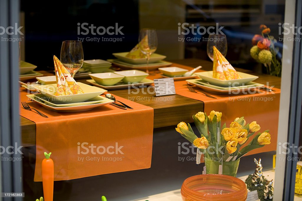 Spring Table royalty-free stock photo