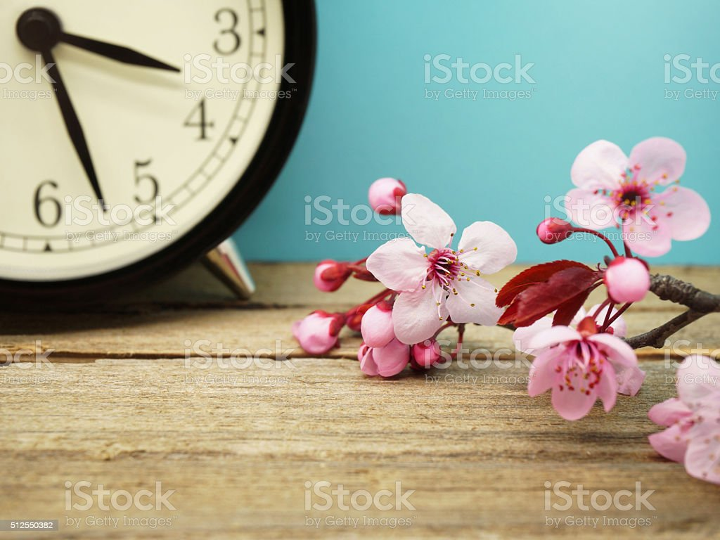 Spring Time Change stock photo