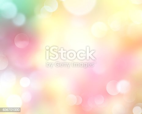 istock Spring time defocused blur yellow nature background. 636701330