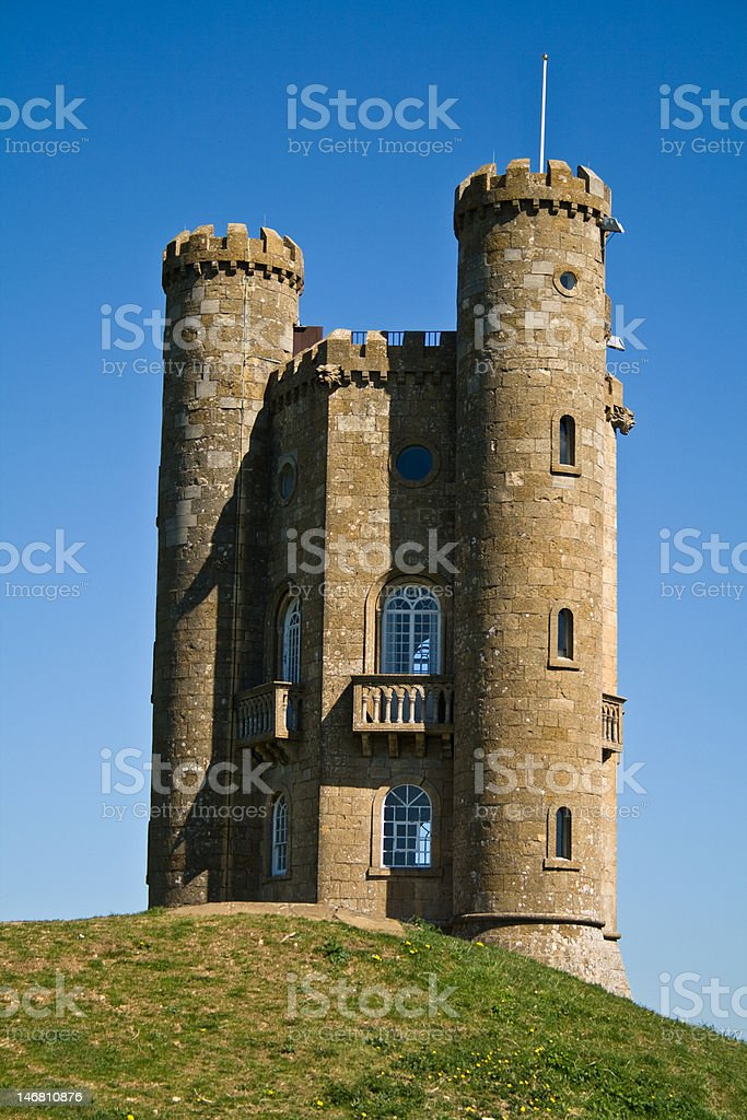 Spring Time Fairytale Tower stock photo