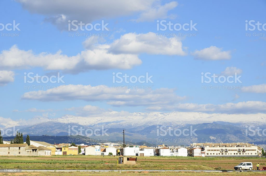 Spring view of Andalusia stock photo