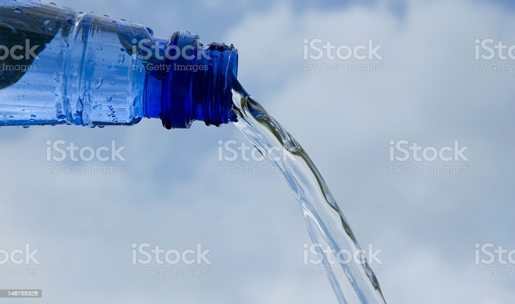 Spring Water royalty-free stock photo
