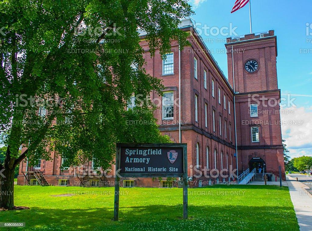 Springfield Armory National Historic Site - Massachusetts stock photo