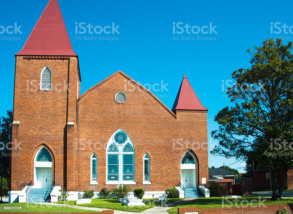 Springfield Baptist Church stock photo