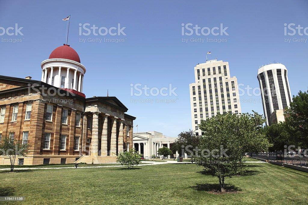 Springfield, Illinios stock photo