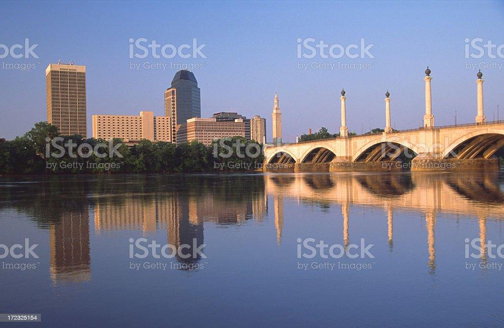 Springfield  Massachusetts stock photo